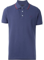 Jacob Cohen Logo Polo Shirt Blue