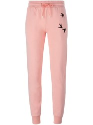 Mcq By Alexander Mcqueen Mcq Alexander Mcqueen Swallow Print Track Pant Pink And Purple