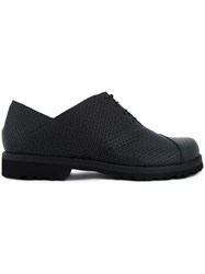 Peter Non Chunky Oxford Shoes Black