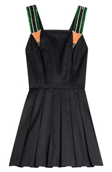 Olympia Le Tan Hymers Flared Cotton Dress