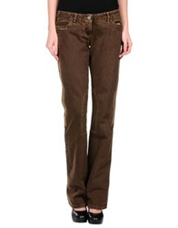 Jackal Denim Pants Dark Brown