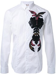 Antonio Marras Embroidered Detail Shirt White