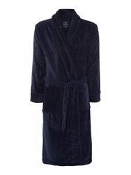 Howick Classic Navy Towelling Robe