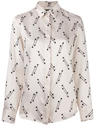Eggs Printed Shirt Nude And Neutrals