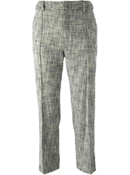 Paul By Paul Smith Cropped Trousers Multicolour