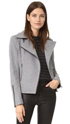 James Jeans Classic Motorcycle Jacket Warm Grey