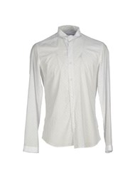 Asfalto Shirts Shirts Men White