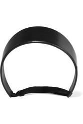 Givenchy Headband In Black Leather