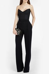 Martin Grant Bonned Bustier Top Black