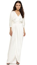 Black Halo Vallie Gown White Tie