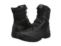 Timberland 8 Valor Duty Soft Toe Side Zip Black Men's Work Lace Up Boots