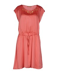 Red Soul Dresses Short Dresses Women Coral