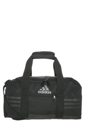 Adidas Performance 3 Stripes Performance Sports Bag Black Vista Grey