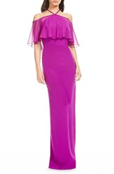 Theia Women's Silk Popover Gown