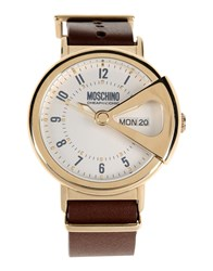 Moschino Cheap And Chic Moschino Cheapandchic Timepieces Wrist Watches Men Gold