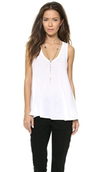 Enza Costa Swing Tank White