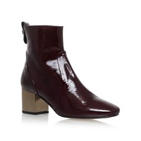 Carvela Strudel High Heel Ankle Boots Red
