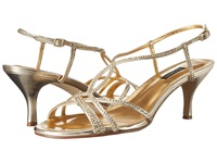 Caparros Pandora Gold Metallic Women's Dress Sandals