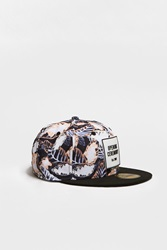 Opening Ceremony Large Painted Leaves New Era 59Fifty Cap Blush Pink Multi
