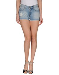 Eleven Paris Denim Denim Shorts Women