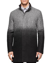 Calvin Klein Ombre Wool Blend Jacket Charcoal