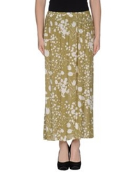 Aniye By Long Skirts Military Green