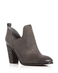 Vince Camuto Federa Cutout Side Booties Dark Blue