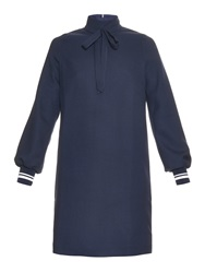 Mother Of Pearl Rowley Textured Wool Mini Dress
