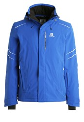 Salomon Icestorm Ski Jacket Blue Yonder