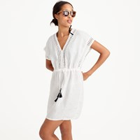 J.Crew Linen Cotton Tassel Tunic