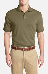 Men's Nordstrom Trim Fit Interlock Knit Polo Olive Night