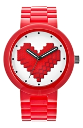 Lego 'Be Mine' Bracelet Watch 42Mm Red