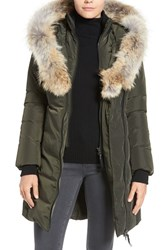 Mackage Women's Down Puffer With Coyote Fur Trim