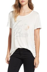 Project Social T Women's 'Just Peachy' Graphic Tee