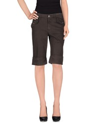 Escada Sport Bermudas Dark Brown