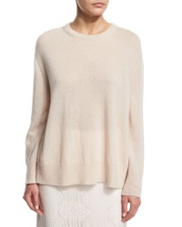The Row Lightweight Swing Sweater Ivory