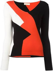 Wunderkind Colour Block Knitted Top