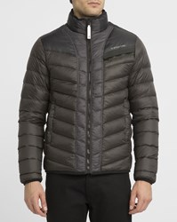 G Star Grey Attac Two Tone Goose Down Jacket