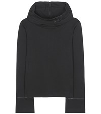 Y 3 Frost Cotton Hoodie Black