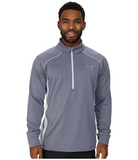 Puma Essential Popover Folkstone Men's Long Sleeve Pullover Blue