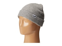 Neff Fold Heather Beanie Grey Heather White Beanies Gray