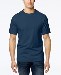 Club Room Men's Paxton Crew Neck T Shirt Only At Macy's Navy Blue