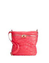 Dolce Vita Quilted Crossbody Bag Pink