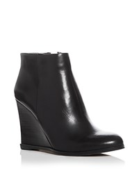 Vince Camuto Gemina Wedge Booties Black