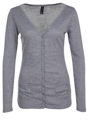 Fresh Made Cardigan Middle Grey