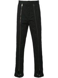 J.W.Anderson Zip Detail Trousers Black