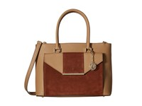 Dkny Bryant Park Saffiano Tote W Detachable Shoulder Strap Camel Luggage Tote Handbags Brown