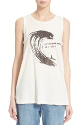 Women's Current Elliott 'The Muscle Tee' Sleeveless Top