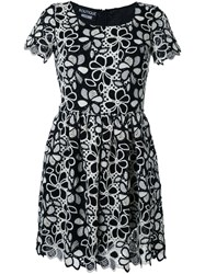 Boutique Moschino Fit And Flare Mini Dress Black
