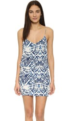 Mikoh Costa Rica Mini Dress Wave Coastal Blue